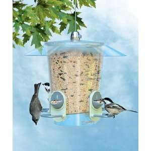 Perky Pet Metro Seed Feeder in.2 in 1in. ports, Sure Lock
