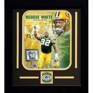 Reggie White Green Bay Packers NFL Framed Photograph Hall of Fame