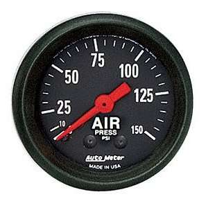 Meter 2620 Z Series 2 1/16 0 150 PSI Mechanical Air Pressure Gauge