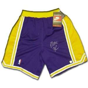 Lakers Heavyweight Pro Model Basketball Shorts