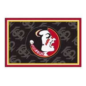 Fanmats Florida State University 4 x 6 black Area Rug