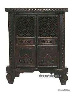 Chinese Antique Buddha Cabinet Side Table Chest G12 31c