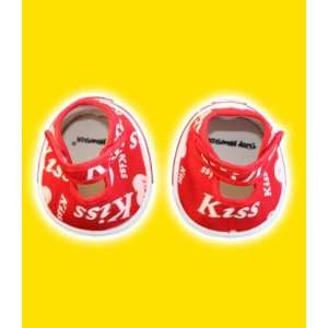 Red Kiss Heart Shoes Teddy Bear Clothes Fit 14   18