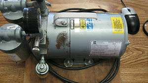 Emerson Vacuum Pump, Model SA55NXGTC 4143. Cat. G180DX