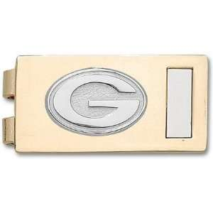 Green Bay Packers Sterling Silver G on Two Tone (Gold