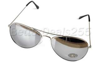 Fashion Mirror Shade Sunglasses Glasses Aviator Women Men Wayfarer