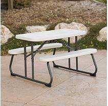 Lifetime Kids Picnic Table   4 Pack