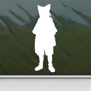 Naruto Joji White Sticker Car Laptop Vinyl Window White