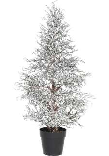 Winter Lane Iced Twig TABLE TOP CHRISTMAS TREE Tree