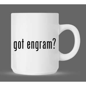 got engram?   Funny Humor Ceramic 11oz Coffee Mug Cup