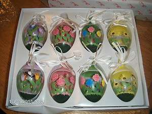 CRYSTAL EGG ORNAMENTS PRINCESS HOUSE FANTASIA #5208 NEW