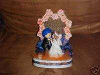 NEW NEW YORK METS BASEBALL WEDDING CAKE TOPPER