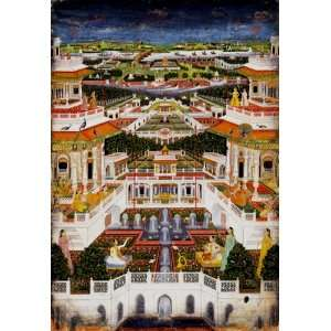 Indian Palace Wooden Jigsaw Puzzle Toys & Games