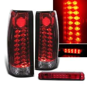 Eautolight 88 98 Sierra Suburban C10 LED Tail Lights +LED