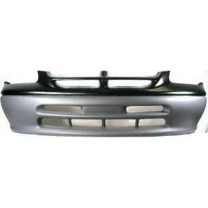 96 98 DODGE GRAND CARAVAN FRONT BUMPER COVER VAN, LE/ SE, Base W/O Fog