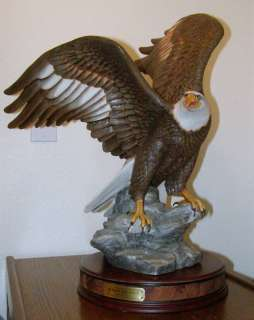 Majestic American Eagle ~ Stands 21 Tall ~ The Franklin Mint