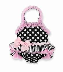 NWT Mud Pie Baby Girl Perfectly Princess Bathing Suit Item # 167004