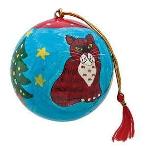 3 Inch Christmas Cat Ornament