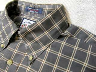 FACONNABLE Mens Long Sleeve Shirt Size L 16 34/35