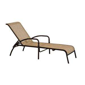 Hampton Bay Andrews Patio Chaise FLS67028
