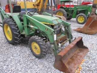 GOOD JOHN DEERE 440 LOADER FOR TRACTORS, CAME OFF JD 1070