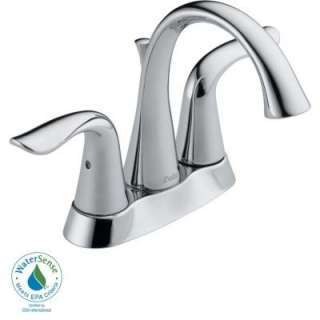 Delta Lahara 4 In. 2 Handle Lavatory Faucet in Chrome 2538LF at The
