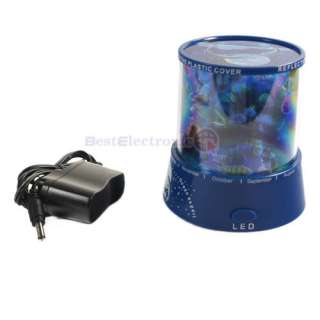 Auto Rotation Ocean Laser Projector Night Lamp Light
