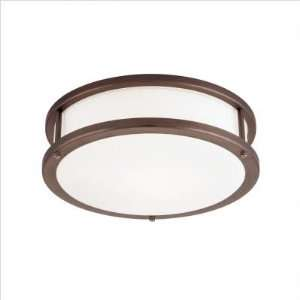 By Access Lighting Conga Collection Bronze Finish Flush