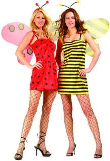 in 1 Ladybug and Bumble Bee Reversible Costume includes velvet dress