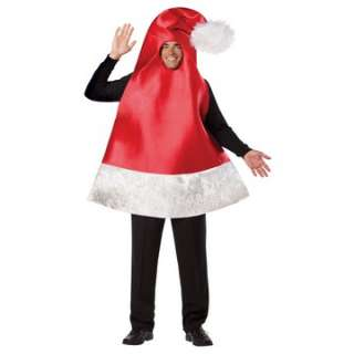 Santa Hat Adult Costume   Includes tunic. Does not include shirt