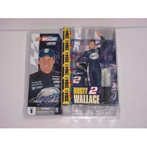 McFarlane Toys NASCAR Series 1 Action Figure Rusty Wallace