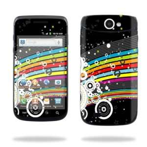 Android Smartphone Cell Phone Sticker Skins Color Blast Cell Phones