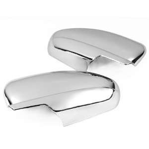 Triple Chrome Side Door Mirror Cover Trims Moulding for 08