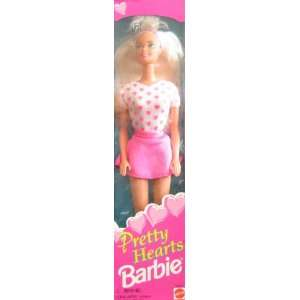 Pretty Hearts Barbie Doll (1995) Toys & Games