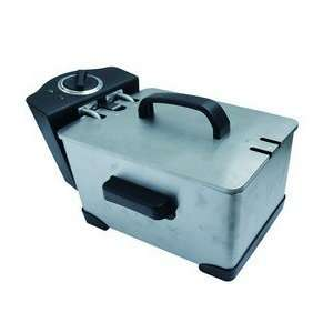 Bene Casa 89759 stainless steel deep fryer.