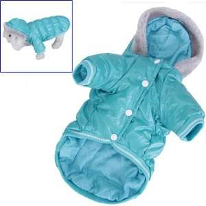 Pet Dog Hoodie Hooded Winter Puffy Coat Jacket   Size L