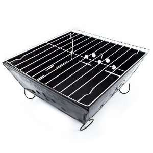 Portable Folding Steel Barbecue Grill