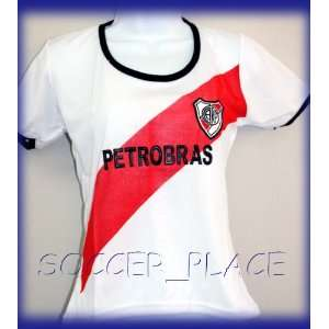 RIVER PLATE WOMEN GIRL FOOTBALL SOCCER JERSEY ONE SIZE