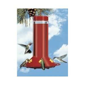 Hardened Glass Humming Bird Feeder   30 oz. Patio, Lawn