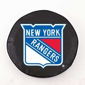 New York Rangers NHL Black Spare Tire Cover
