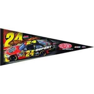 Jeff Gordon Nascar Racing Driver Pennant Sports