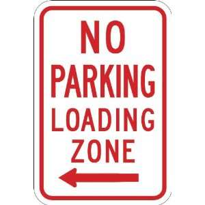 R7 6L,12x18 EGP,No Parking Loading Zone w/Left