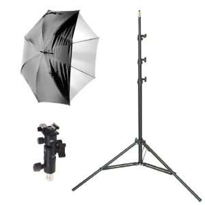 Polaroid Pro Studio 8 Air Cushioned Heavy Duty Light Stand + Polaroid