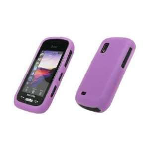 Light Purple Soft Silicone Gel Skin Cover Case for Samsung Solstice