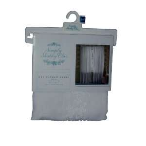 Simply Shabby Chic Voile Embroidered with eyelet cutouts