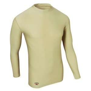 Fit Compression Long Sleeve Tee, Large, Fatigue