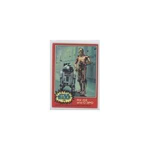 1977 Star Wars (Trading Card) #118   R2 D2 and C 3PO
