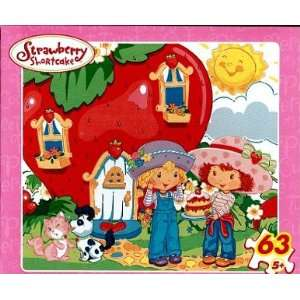Strawberry Shortcake 63 Piece Watering Puzzle