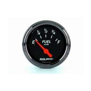 Auto Meter 1417 BLK STREET ROD FUEL GAUG Automotive