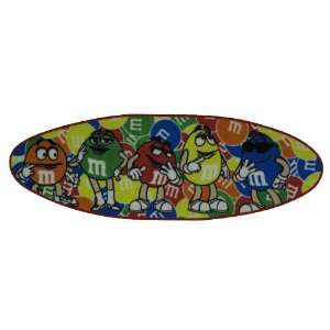 M & Ms Surfboard Area Rug 19x58